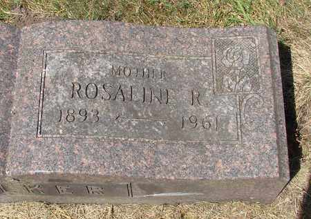 WALKER, ROSALINE R - Tillamook County, Oregon | ROSALINE R WALKER - Oregon Gravestone Photos