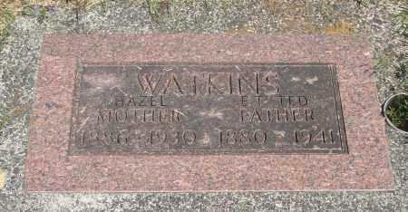 WATKINS, EDWARD T - Tillamook County, Oregon | EDWARD T WATKINS - Oregon Gravestone Photos