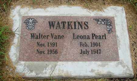 WATKINS, WALTER VANE - Tillamook County, Oregon   WALTER VANE WATKINS - Oregon Gravestone Photos