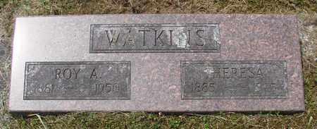 WATKINS, THERESA - Tillamook County, Oregon | THERESA WATKINS - Oregon Gravestone Photos