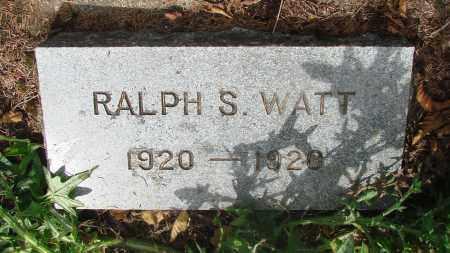 WATT, RALPH S - Tillamook County, Oregon | RALPH S WATT - Oregon Gravestone Photos