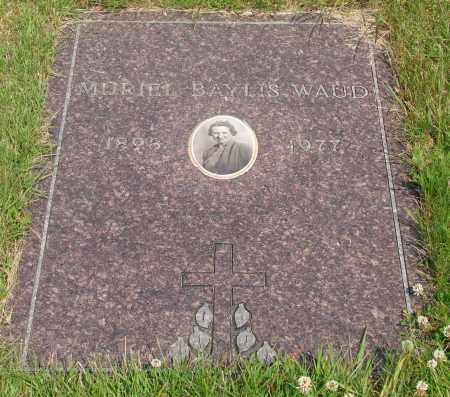 WAUD, MURIEL - Tillamook County, Oregon | MURIEL WAUD - Oregon Gravestone Photos