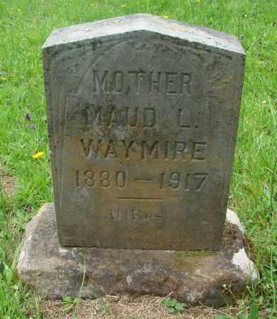 WAYMIRE, MAUD L - Tillamook County, Oregon | MAUD L WAYMIRE - Oregon Gravestone Photos