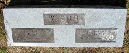 WEBB, CLYDE H - Tillamook County, Oregon | CLYDE H WEBB - Oregon Gravestone Photos