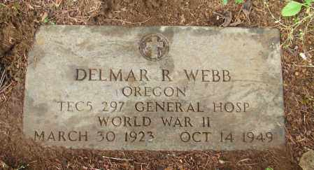 WEBB, DELMAR ROY - Tillamook County, Oregon | DELMAR ROY WEBB - Oregon Gravestone Photos