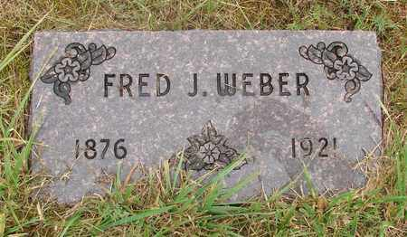 WEBER, FRED J - Tillamook County, Oregon | FRED J WEBER - Oregon Gravestone Photos