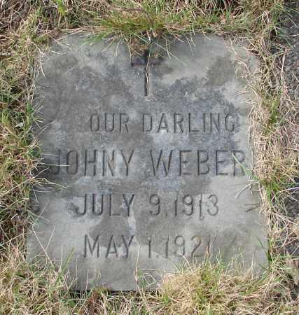 WEBER, JOHNY - Tillamook County, Oregon | JOHNY WEBER - Oregon Gravestone Photos