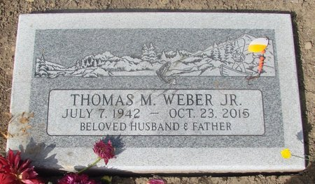 WEBER, THOMAS M JR - Tillamook County, Oregon   THOMAS M JR WEBER - Oregon Gravestone Photos