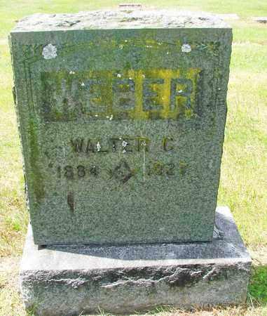 WEBER, WALTER CLYDE - Tillamook County, Oregon   WALTER CLYDE WEBER - Oregon Gravestone Photos