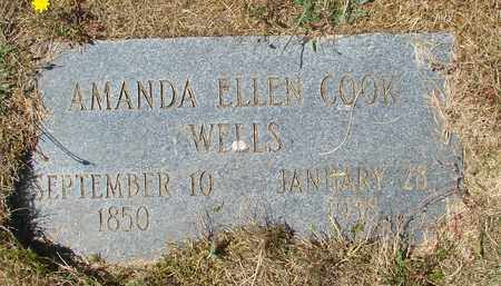 COOK, AMANDA ELLEN - Tillamook County, Oregon | AMANDA ELLEN COOK - Oregon Gravestone Photos