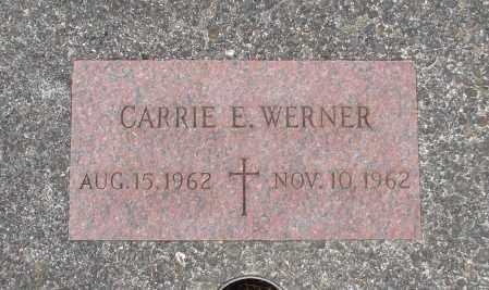 WERNER, CARRIE E - Tillamook County, Oregon | CARRIE E WERNER - Oregon Gravestone Photos