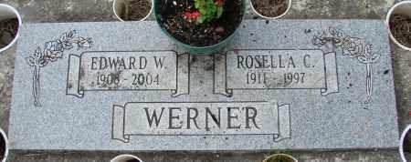 WERNER, EDWARD W - Tillamook County, Oregon | EDWARD W WERNER - Oregon Gravestone Photos