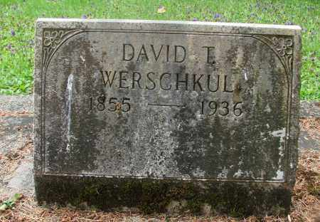 WERSCHKUL, DAVID T - Tillamook County, Oregon | DAVID T WERSCHKUL - Oregon Gravestone Photos