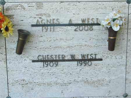 WEST, CHESTER W - Tillamook County, Oregon   CHESTER W WEST - Oregon Gravestone Photos