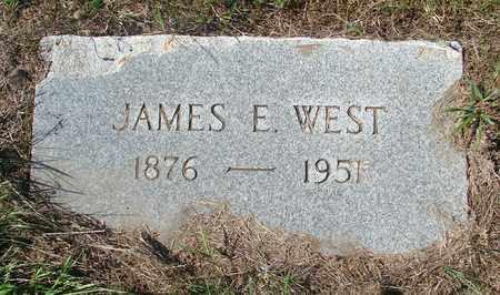 WEST, JAMES E - Tillamook County, Oregon | JAMES E WEST - Oregon Gravestone Photos