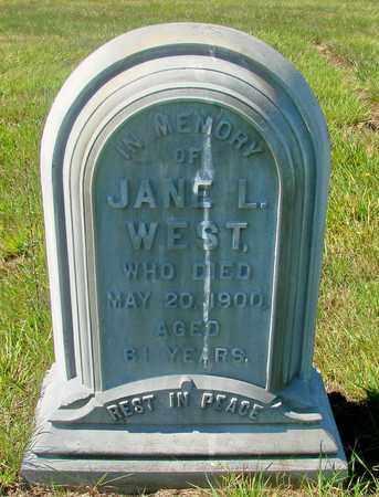 WEST, JANE L - Tillamook County, Oregon | JANE L WEST - Oregon Gravestone Photos