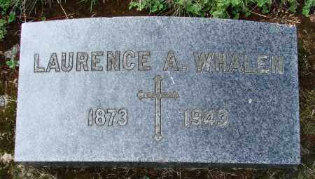WHALEN, LAURENCE A - Tillamook County, Oregon | LAURENCE A WHALEN - Oregon Gravestone Photos