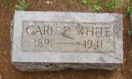 WHITE, CARL EDGAR - Tillamook County, Oregon | CARL EDGAR WHITE - Oregon Gravestone Photos