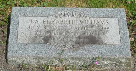 WILLIAMS, IDA ELIZABETH - Tillamook County, Oregon | IDA ELIZABETH WILLIAMS - Oregon Gravestone Photos