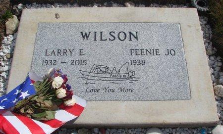 WILSON, LARRY E - Tillamook County, Oregon | LARRY E WILSON - Oregon Gravestone Photos