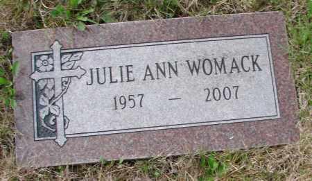 WEIS WOMACK, JULIE ANN - Tillamook County, Oregon | JULIE ANN WEIS WOMACK - Oregon Gravestone Photos