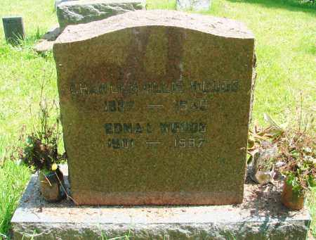 WOODS, EDNA I - Tillamook County, Oregon | EDNA I WOODS - Oregon Gravestone Photos