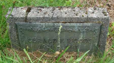 WOODS, GERALD F - Tillamook County, Oregon | GERALD F WOODS - Oregon Gravestone Photos