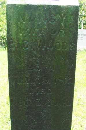 WOODS, NANCY - Tillamook County, Oregon | NANCY WOODS - Oregon Gravestone Photos
