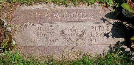 WOODS, OLLIE EDWIN - Tillamook County, Oregon | OLLIE EDWIN WOODS - Oregon Gravestone Photos