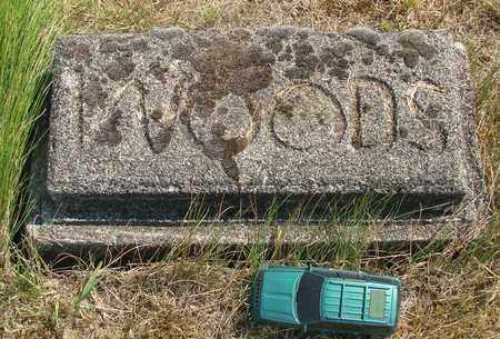WOODS, UNKNOWN - Tillamook County, Oregon | UNKNOWN WOODS - Oregon Gravestone Photos