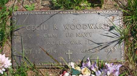 WOODWARD, CECIL R - Tillamook County, Oregon | CECIL R WOODWARD - Oregon Gravestone Photos