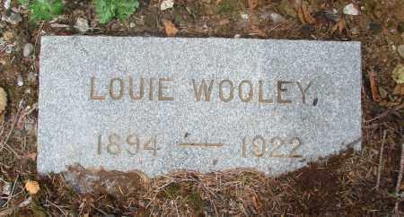 WOOLEY, LOUIE - Tillamook County, Oregon   LOUIE WOOLEY - Oregon Gravestone Photos