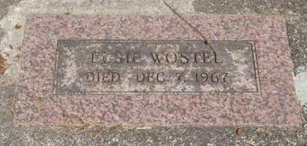 WOSTEL, ELSIE - Tillamook County, Oregon | ELSIE WOSTEL - Oregon Gravestone Photos