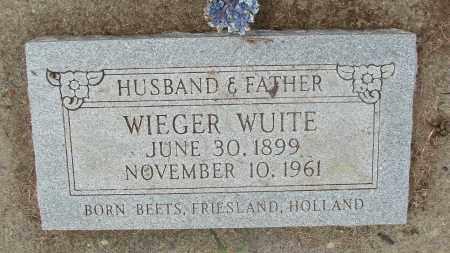 WUITE, WIEGER - Tillamook County, Oregon | WIEGER WUITE - Oregon Gravestone Photos