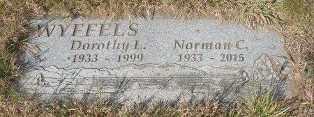 WYFFELS, NORMAN C - Tillamook County, Oregon | NORMAN C WYFFELS - Oregon Gravestone Photos