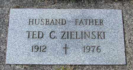 ZIELINSKI, TED C - Tillamook County, Oregon | TED C ZIELINSKI - Oregon Gravestone Photos