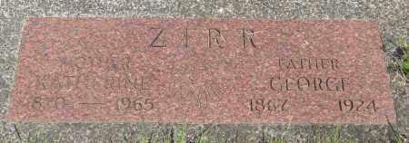 ZIRR, GEORGE - Tillamook County, Oregon | GEORGE ZIRR - Oregon Gravestone Photos