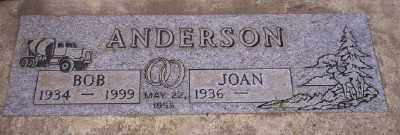 ANDERSON, JOAN - Umatilla County, Oregon | JOAN ANDERSON - Oregon Gravestone Photos