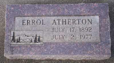ATHERTON, ERROL - Umatilla County, Oregon | ERROL ATHERTON - Oregon Gravestone Photos