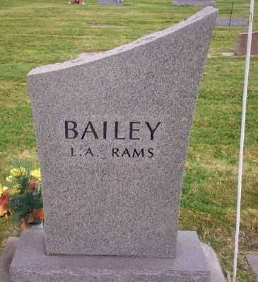 BAILEY, JEFF C - Umatilla County, Oregon   JEFF C BAILEY - Oregon Gravestone Photos