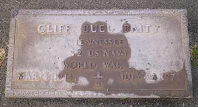 BAITY (WWII), CLIFF BUEL - Umatilla County, Oregon | CLIFF BUEL BAITY (WWII) - Oregon Gravestone Photos