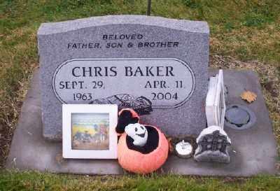BAKER, CHRIS - Umatilla County, Oregon | CHRIS BAKER - Oregon Gravestone Photos