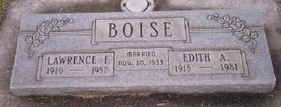 BOISE, LAWRENCE FLOYD - Umatilla County, Oregon | LAWRENCE FLOYD BOISE - Oregon Gravestone Photos