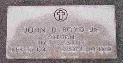BOYD (VN), JOHN DAVID JR - Umatilla County, Oregon | JOHN DAVID JR BOYD (VN) - Oregon Gravestone Photos