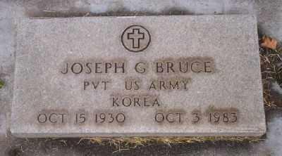 BRUCE (KOR), JOSEPH GLENN - Umatilla County, Oregon | JOSEPH GLENN BRUCE (KOR) - Oregon Gravestone Photos