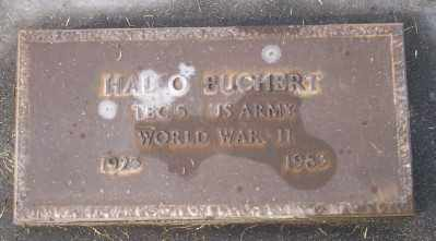 BUCHERT (WWII), HAL O - Umatilla County, Oregon | HAL O BUCHERT (WWII) - Oregon Gravestone Photos