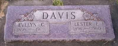 DAVIS, LESTER E - Umatilla County, Oregon   LESTER E DAVIS - Oregon Gravestone Photos