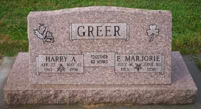 GREER, E MARJORIE - Umatilla County, Oregon | E MARJORIE GREER - Oregon Gravestone Photos