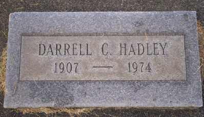 HADLEY, DARRELL C - Umatilla County, Oregon | DARRELL C HADLEY - Oregon Gravestone Photos