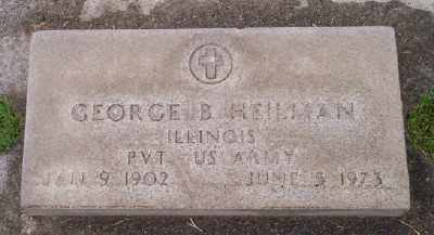 HEILMAN (WWII), GEORGE B - Umatilla County, Oregon | GEORGE B HEILMAN (WWII) - Oregon Gravestone Photos